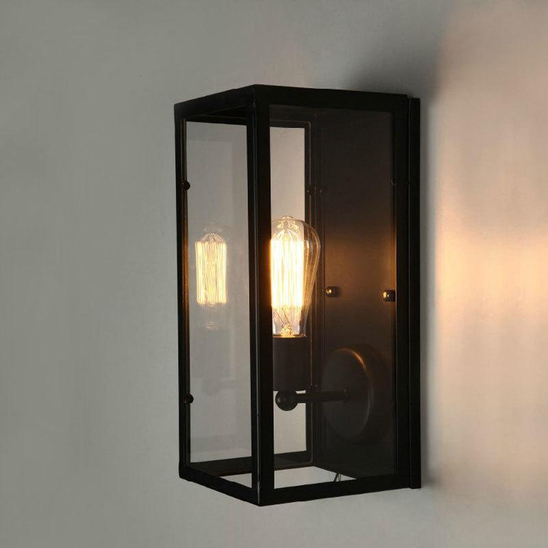 Indoor Wall Mounted Led Light Vintage Wall Sconce Lighting Fixture Steam Punk Applique Murale Led bedroom light bathroom