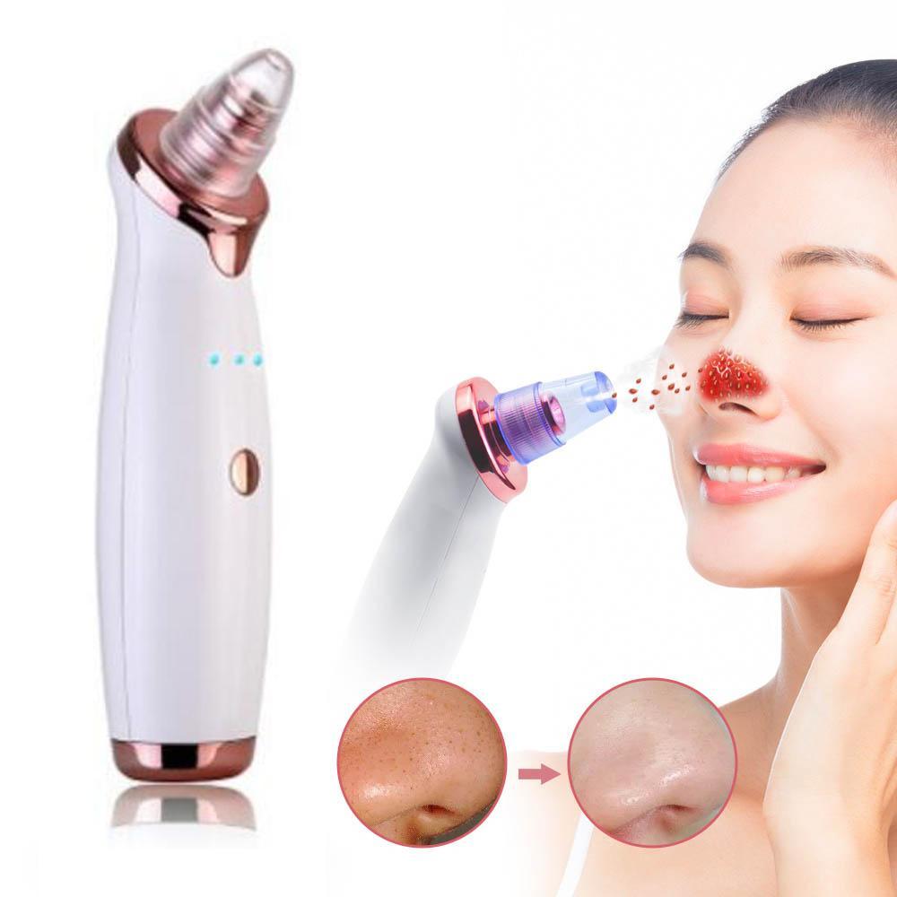 Blackhead Remover Pore Vacuum Acne Pimple Remoção de sucção a vácuo Ferramenta de cara limpa Facial Skin Diamond dermoabrasão máquina Cuidados