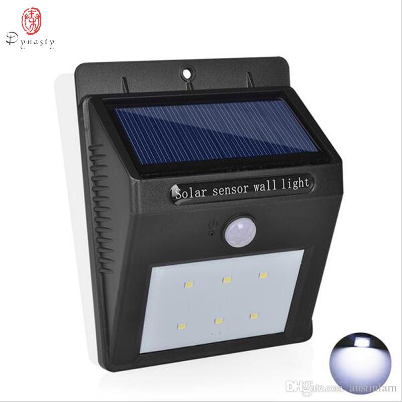 أضواء سلالة الشمسية LED الجدار في الهواء الطلق الديكور للماء مصباح الجدار IP65 الترا برايت الأمن حديقة مغطاة الفناء ممرات سفينة الحرة