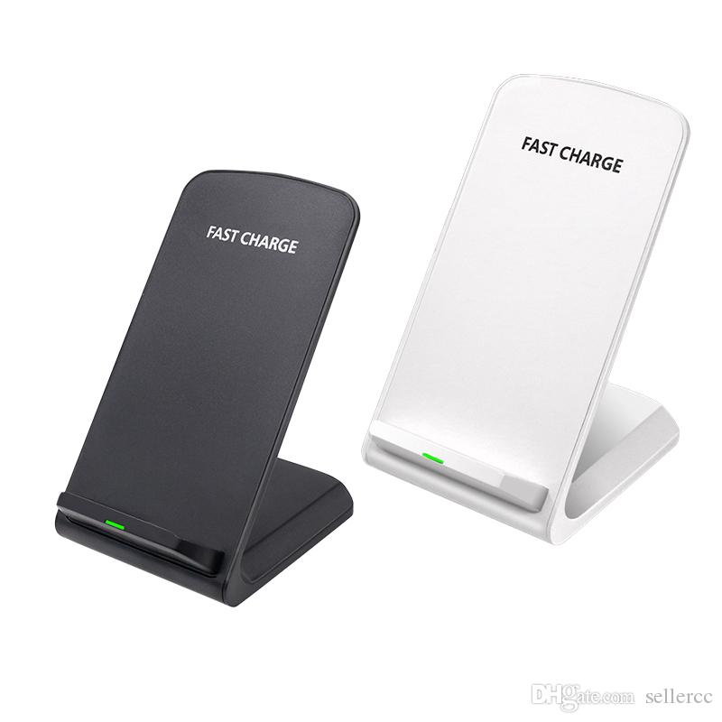 Qi Wireless Charging Stand Dock for Samsung Galaxy S10//S10 Black S7 S7 Edge //S6 Edge Plus//Note 5