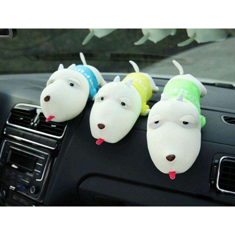 Accessori New Car Cartoon Dog Purify Car Deodorante Decoration peluche decorazione di bambù Bag Carbone