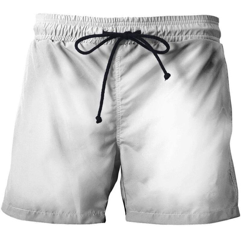 Пользовательские пляжные брюки 3D напечатаны случайные пляжные брюки