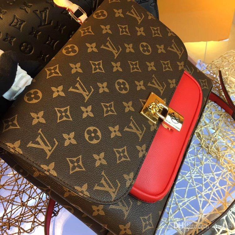 42 nuevos franceses de lujo de diseño de moda de señora bolsas casuales damas bolsas de la compra bolsas de trabajo de las mujeres de negocios caja original de factura