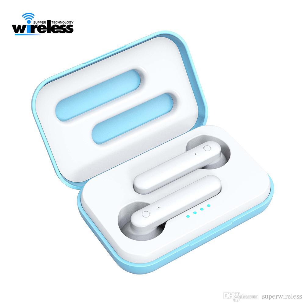 TWS K88 Auriculares inalámbricos Bluetooth 5.0 Auriculares tiempo de trabajo 4 horas Touch Auriculares estéreo Auriculares Ruido Resuelto Mic