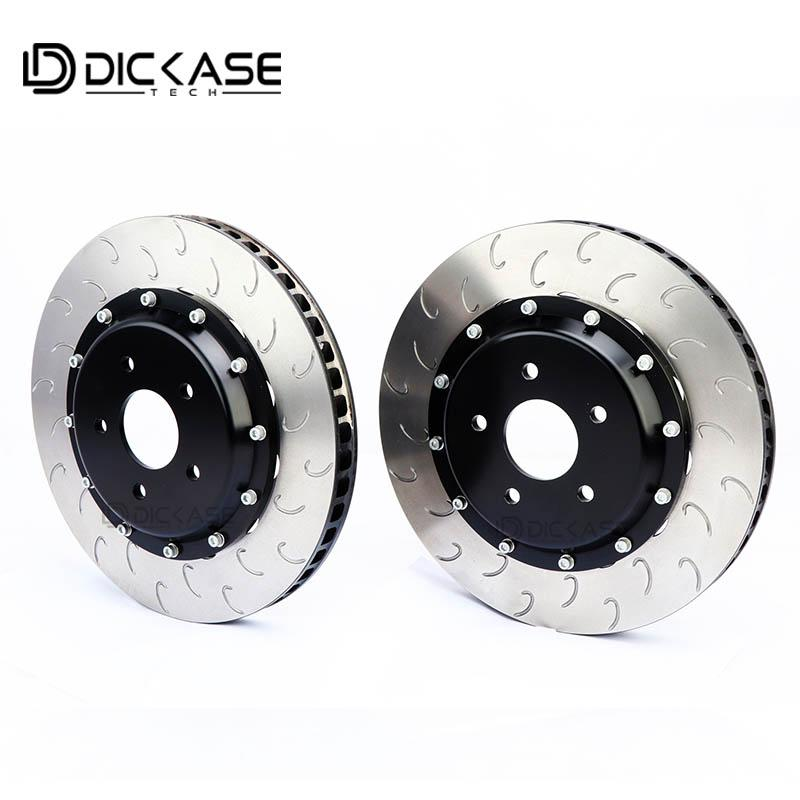 X5 için CP7040 / CP9040 Six pistonlar fren kaliper için Dicase yarış modifiye diskli fren rotoru