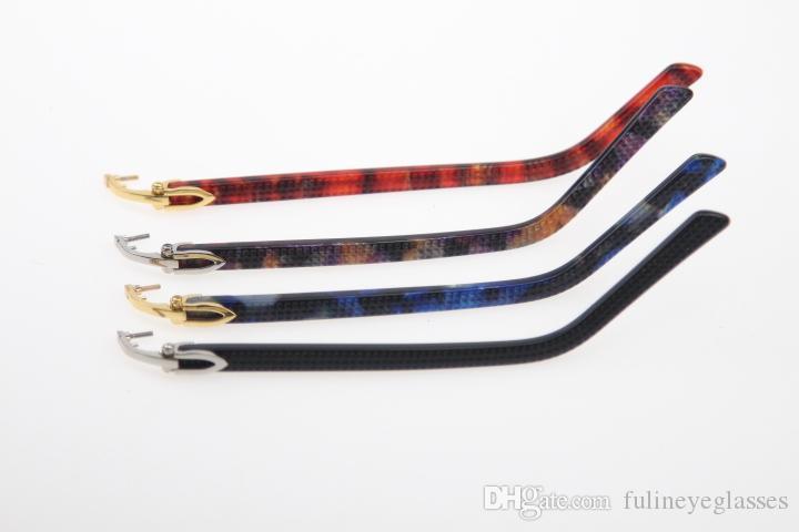 고품질 브랜드 무선 판자 아이웨어 액세서리 액세서리 액세서리 금속 안경 모델 고품질 새로운 패션을 교체
