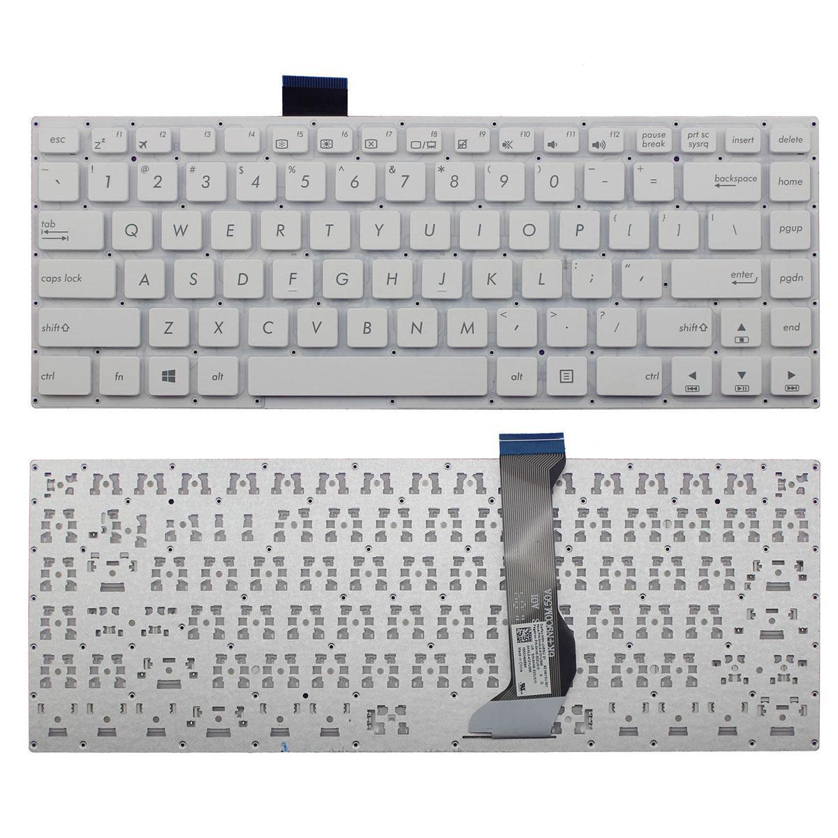 NOVO Inglês Laptop teclado branco para teclado Asus E402 E402M E402MA E402S E402SA US Laptop Repair