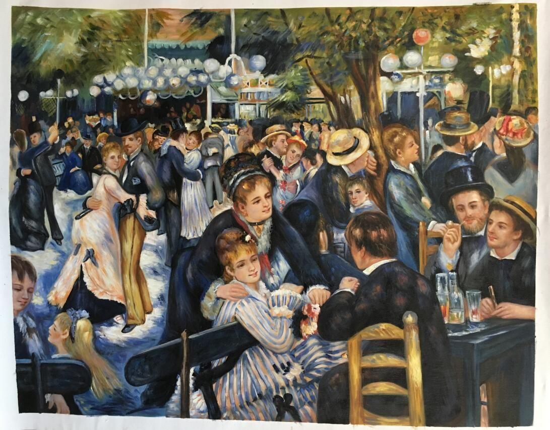 Pierre Auguste Renoir painting