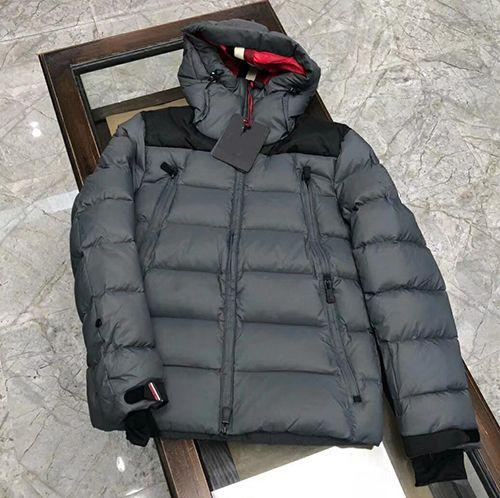Роскошная Верхняя одежда от мужчин удобного мягкой пуховой куртки 90% гусиного вскользь leveda размера майа зимнее пальто 1-6