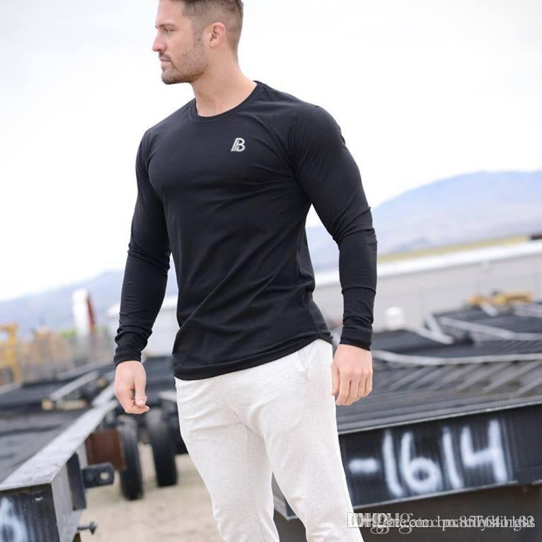 Hommes manches longues col rond Sweat-shirt à capuche Homme Vêtements de sport 6 Casual Couleur Sweat-shirt Homme Sweats Vêtements Pull solide