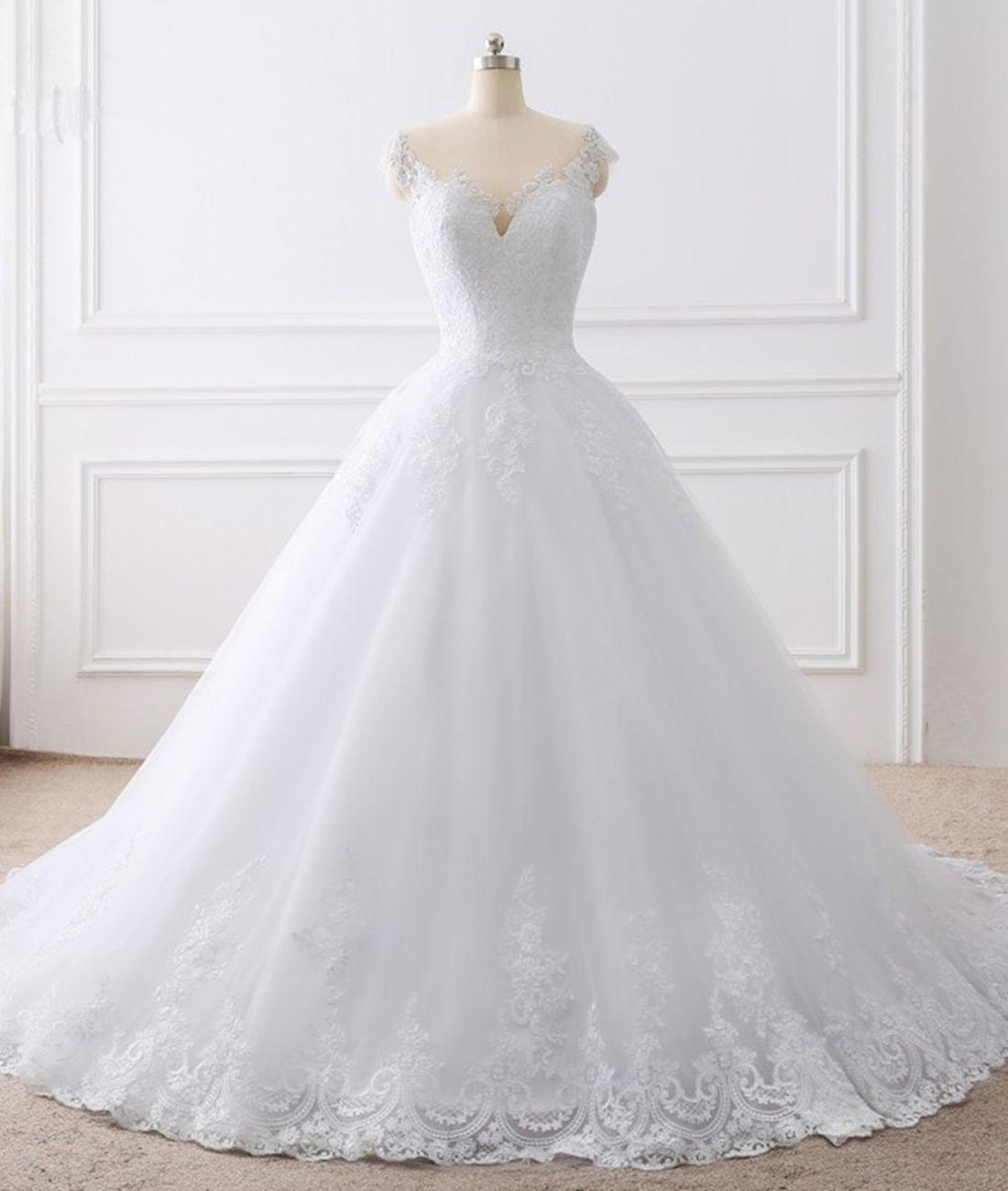 Vero abito da sposa abiti da sposa abiti da sposa Appliques abiti da sposa Vestido de Brides Princess Beach Abito da sposa abito da sposa abiti da sposa