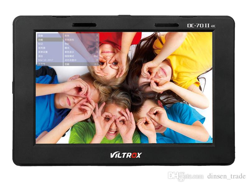 "wholesale DC-70II Pro 7"" 4K HDMI SDI AV TALLY director Input Output Video HD LCD Camera Video Monitor Display Field for Canon Nikon Sony"