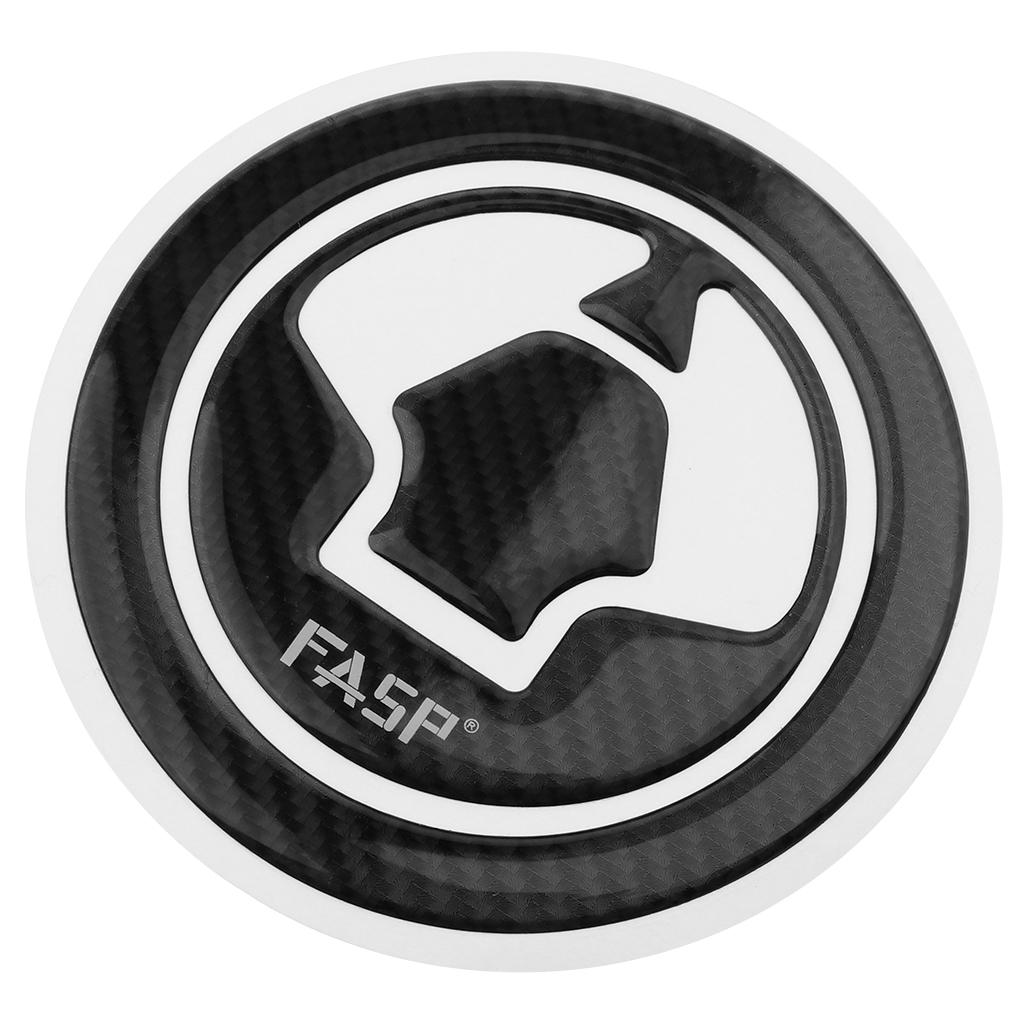 Real Carbon Fiber Gas Cap Cover Pad Fuel Tank Sticker Decal Gas Cap Protector for Kawasaki ER6N Z650