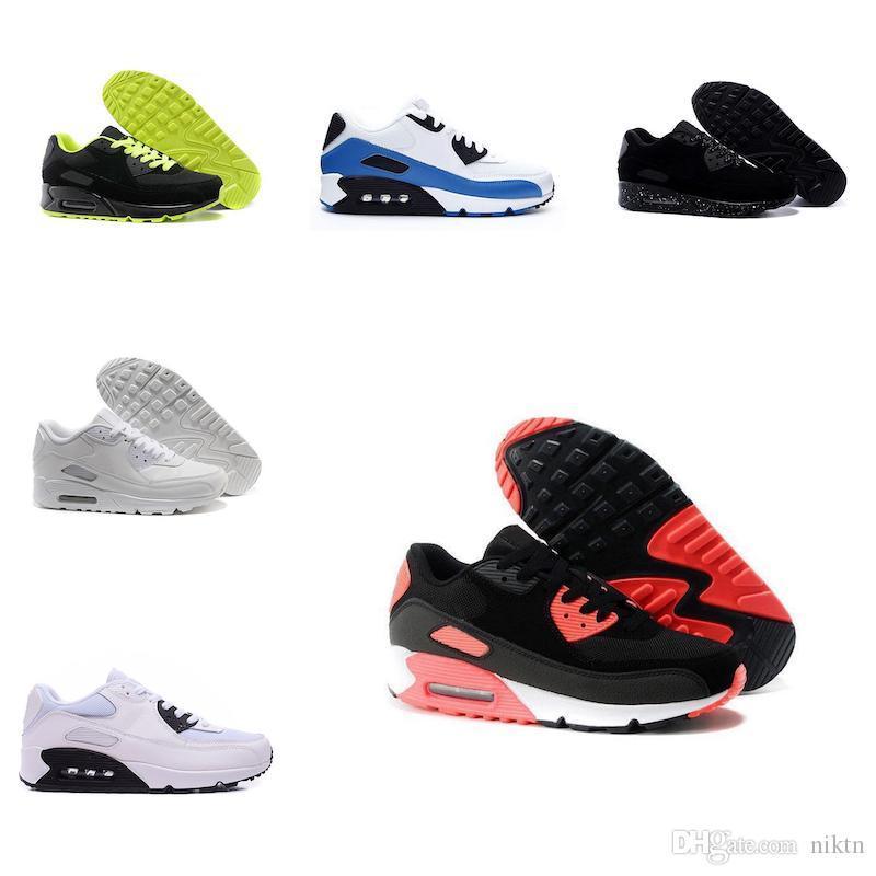Мужские кроссовки Обувь классические мужчин и женщин кроссовки спортивный тренер Черный Красный Белый дышащий Спортивная обувь 36-45