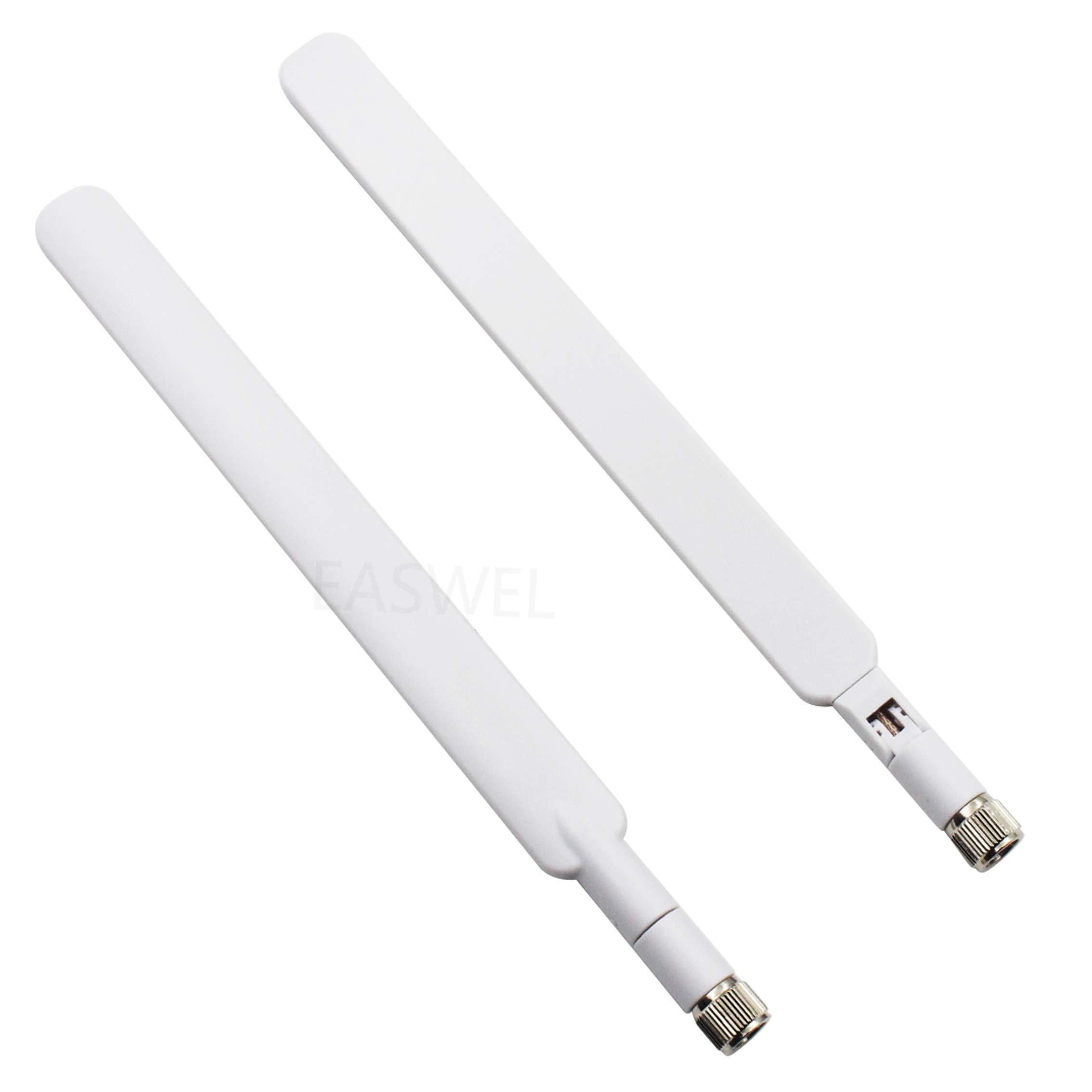 2pcs 4G LTE External Antenna SMA Connector For B593 Wireless Gateway HUAWEI