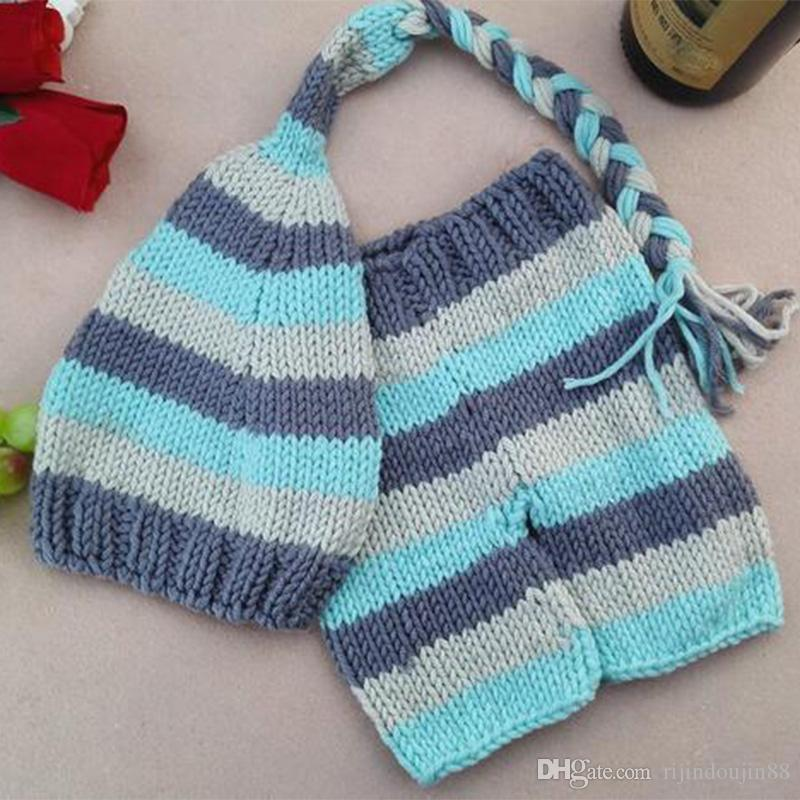 Baby photo accessories newborn props for photography crochet infant clothes toddler knitting outfit suit new born girl boy shooting props