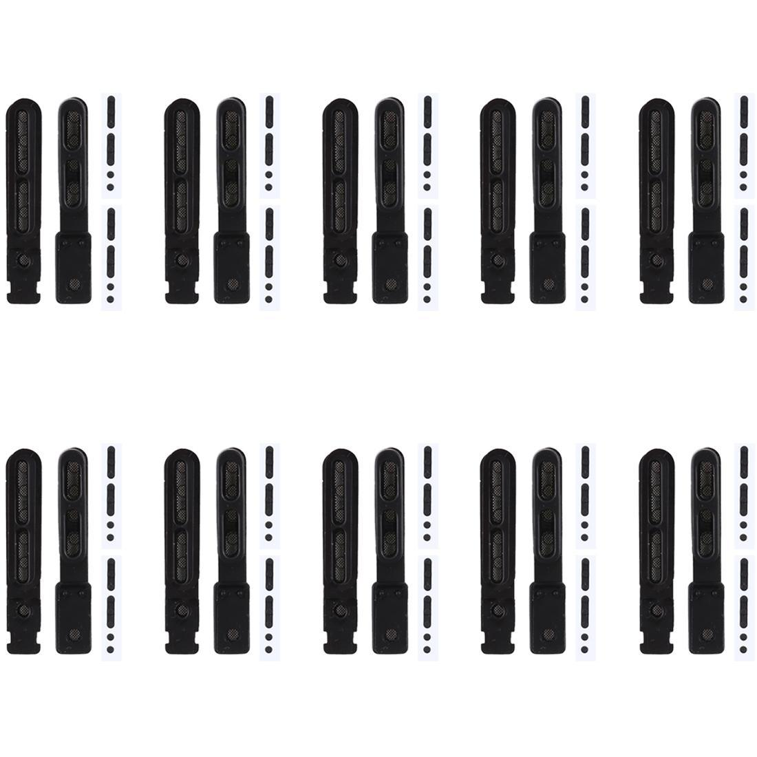 10 PCS microfono antipolvere Mesh + altoparlante antipolvere Mesh per iPhone 8 più