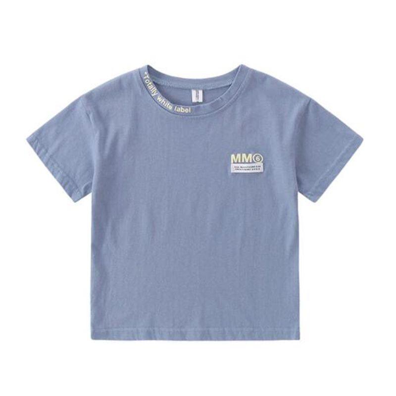 Summer Children Boy Kids Cotton Short Sleeve Top Blouse T-Shirt Tee Clothes Sale