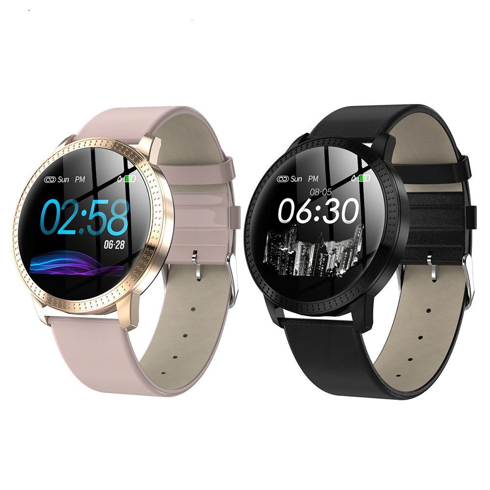 CF18 intelligente montre pour homme IP67 Smart femmes montres pour couple Rappel Bluetooth Fitness Tracker Bracelet Santé