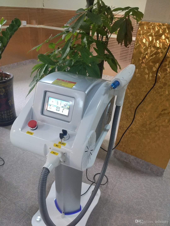 Лазерное удаление татуировок Сенсорный экран Q Switched YD YAG лазер красоты машина для ухода за кожей Шрам от угревой сыпи