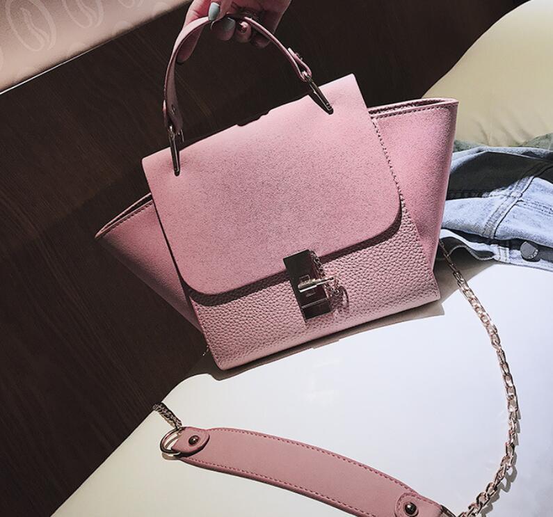 Fashion European Style Women Handbags PU Leather Bag Women Designer Handbag Ladies Large Shoulder Messenger Bags Tote Bags Frosted Bag/4