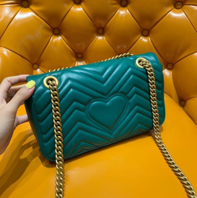 Tasarımcı Çanta 2020 Klasik tasarımcı Etiket En kaliteli kız Aşıklar kalp şekli omuz kadınlar lüks Moda Çanta Makyaj çantası çanta pur