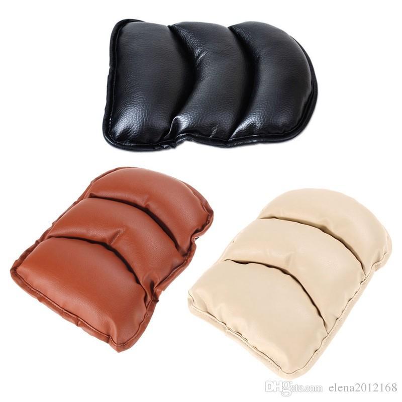 Top Cover bracciolo universale Seggiolino Auto in pelle Soft Cover Auto Center Console bracciolo Box bracciolo del sedile rilievo protettivo della stuoia dell'automobile