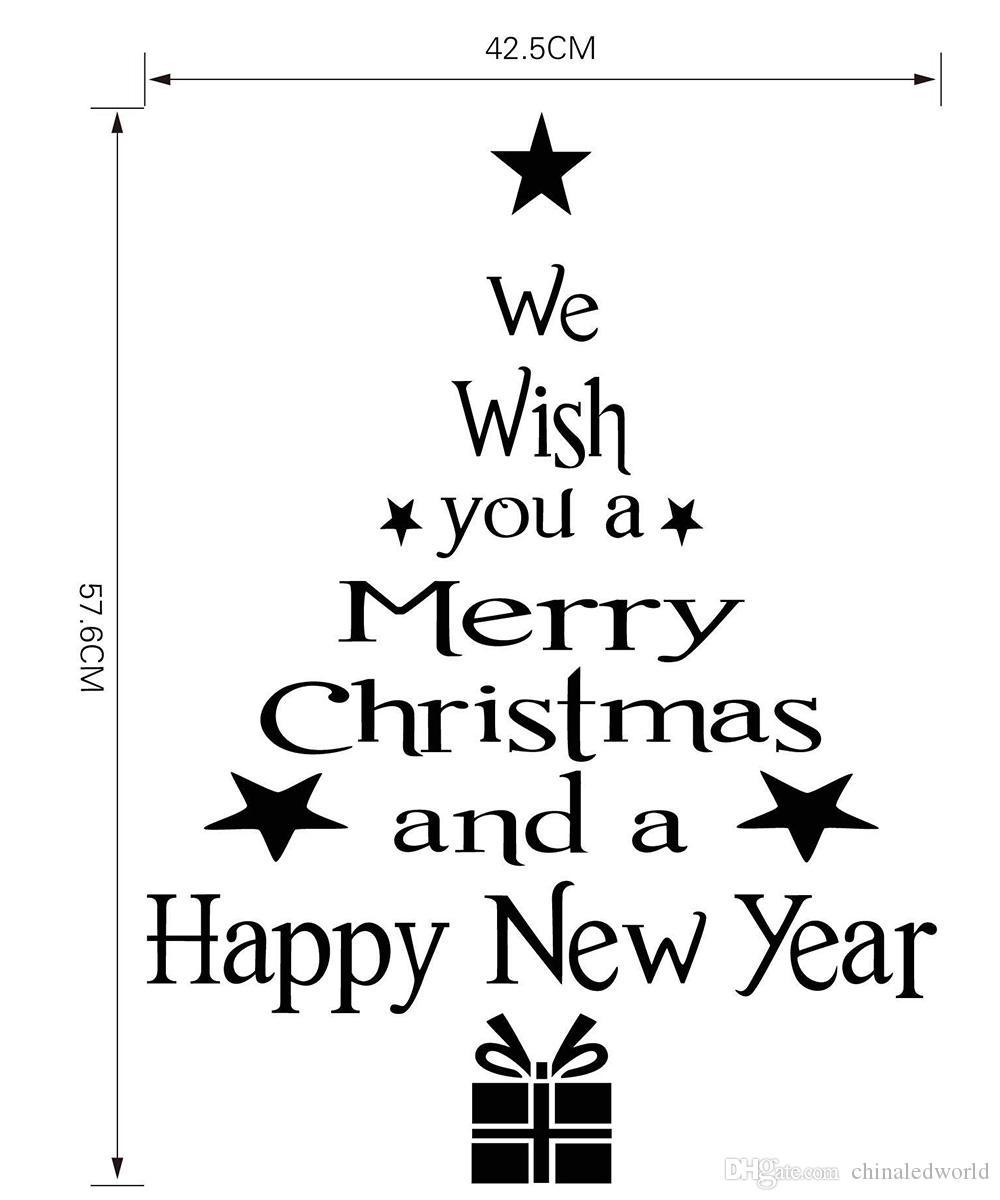 M - 85 Sticker decorativo per albero di Natale