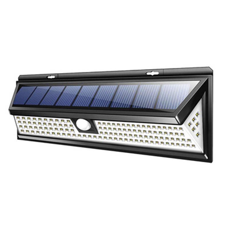 180COB / 118 LED بالطاقة الشمسية مصباح الجدار ماء زاوية واسعة في الهواء الطلق حديقة ساحة كراج الأمن الطوارئ الإضاءة الجدار الخفيفة