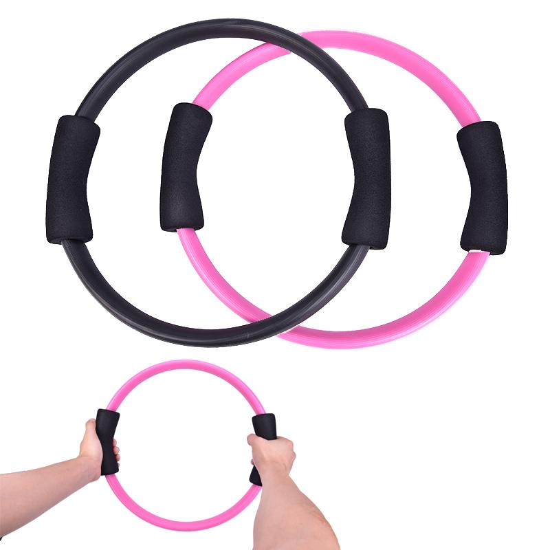 Pilates Anel Magic Circle duplo aperto Sporting Goods Yoga Anel exercício Body Fitness Massagem laço Perder Peso do equipamento