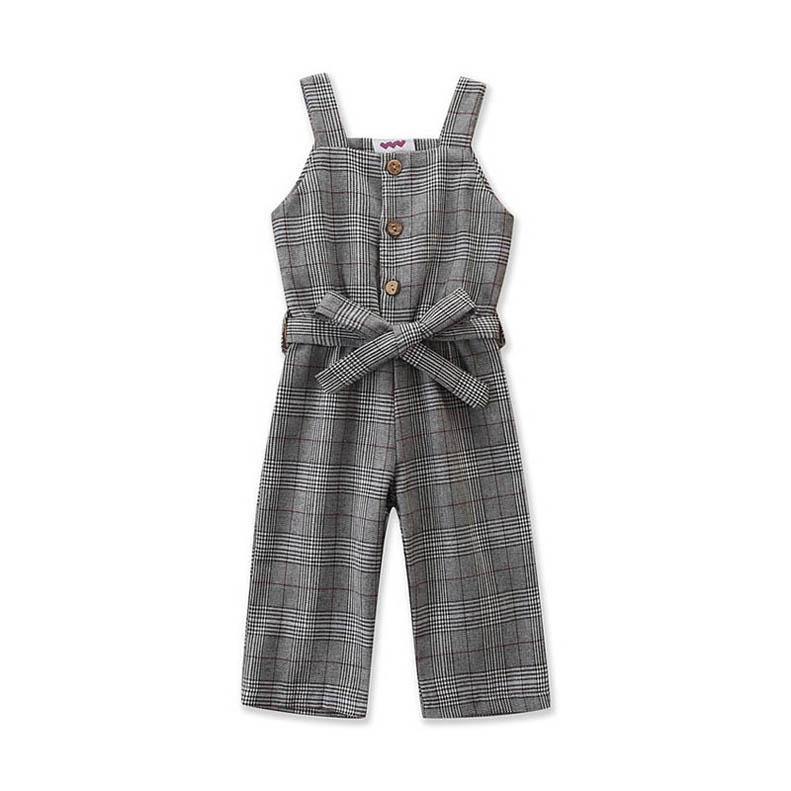 Ins nouveau 2020 des filles de mode enfants croisillons enfants Suspenders Stylistes enfants salopette filles pantalons filles vêtements B170