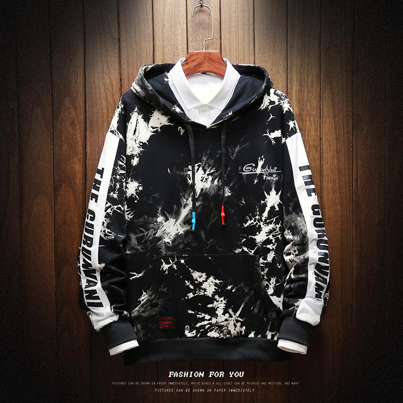 2019 Sweats Homme Casual Pull Streetwear Sweat Sudadera Hombre Hip Hop Style Punk Hommes Sweat Capuche