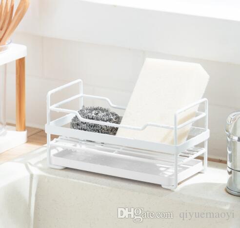 essiccazione piatto cremagliera spugna bianca taglio porta pannelli per l'armadietto e scolapiatti per cucina contatore