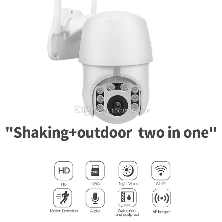 1080P Cloud Storage Wireless WIFI PTZ IP Camera HD night vision Speed Dome video Camera Outdoor home security Surveillance CCTV camcorder
