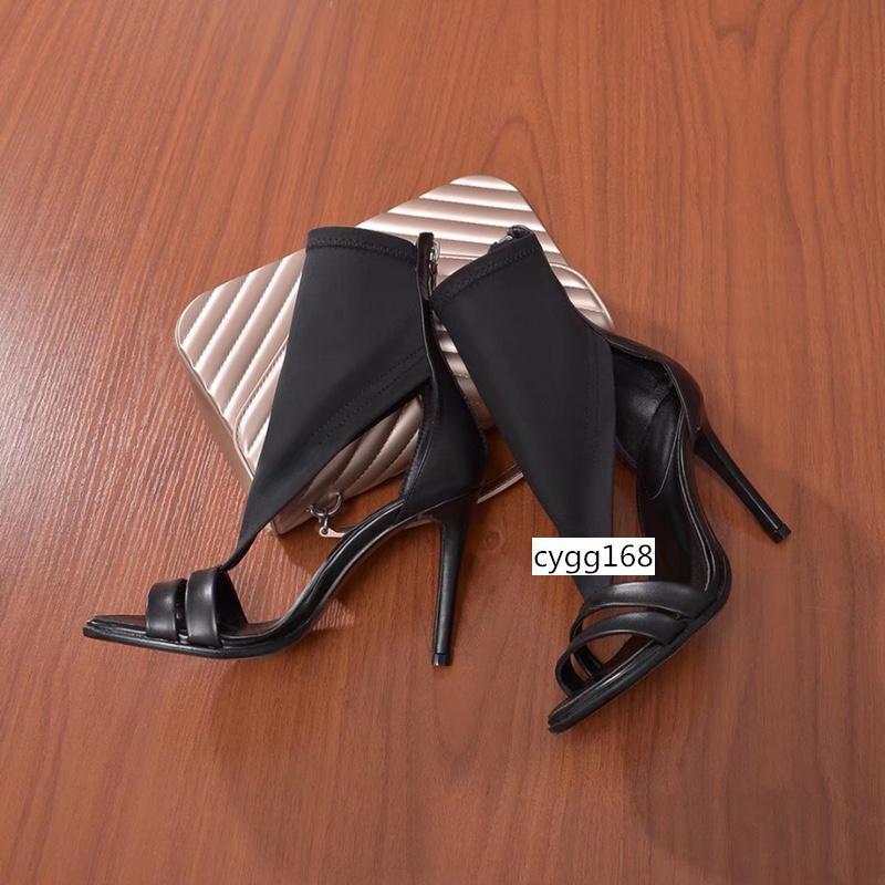 TOP-Entwerfer-Frauen Absatz-Pumpen-Absatz-Schwarz spitze Zehen Runde rote Unterseite Kleid Hochzeit Shoessize 35