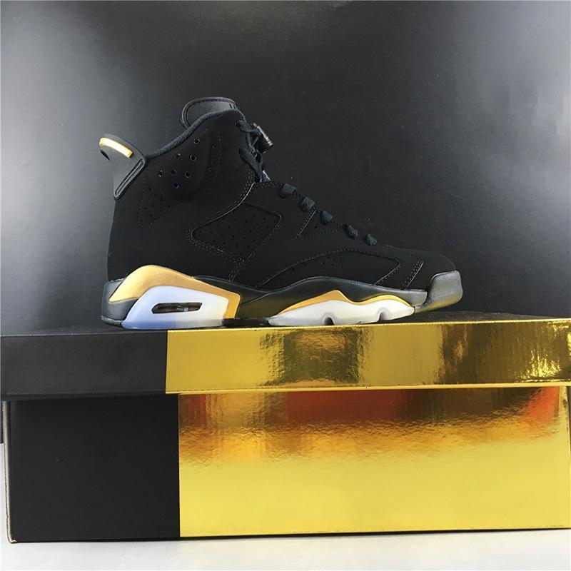 con la caja 2019 para hombre de los zapatos de baloncesto zapatillas de deporte de los zapatos de 6s DMP CT495S4-007 marca de diseño entrenadores deportivos US7.5-13
