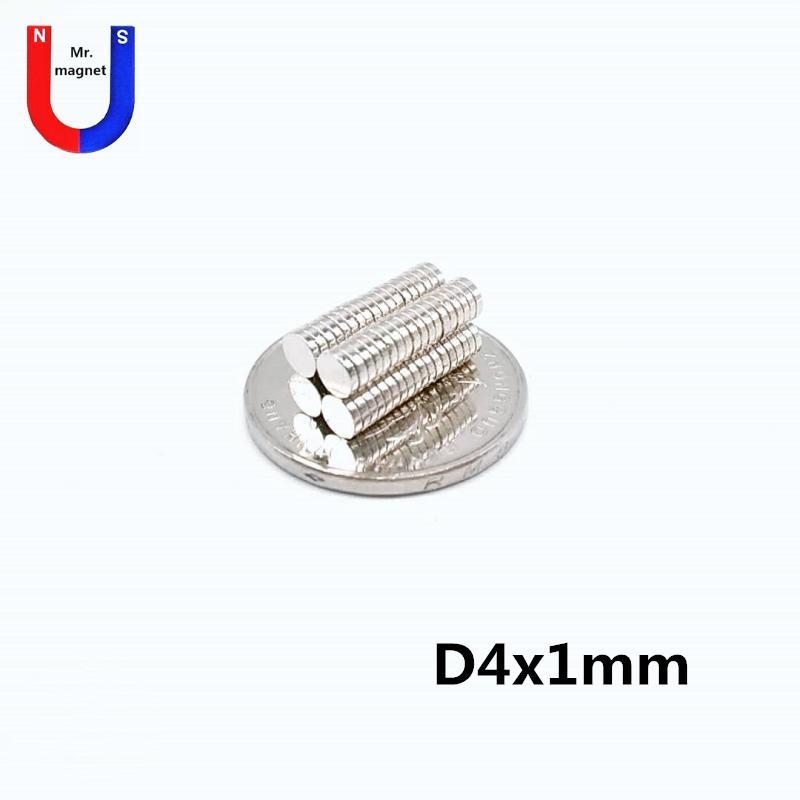 Artcraft D4x1mm nadir toprak mıknatıs 4mmx1mm 4x1 mm neodimyum mıknatıslar 4x1 mm ücretsiz gönderim için 300pcs Sıcak satış küçük pirinç 4x1 mıknatıs 4 * 1mm