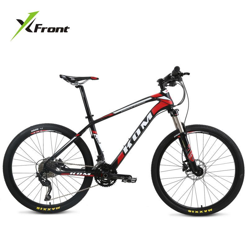 New Brand Mountain Bike Carbon Fiber Frame SHIMAN0 27/30 Speed 26 inch Wheel Hydraulic Disc Brake Bicycle Outdoor MTB Bicicleta