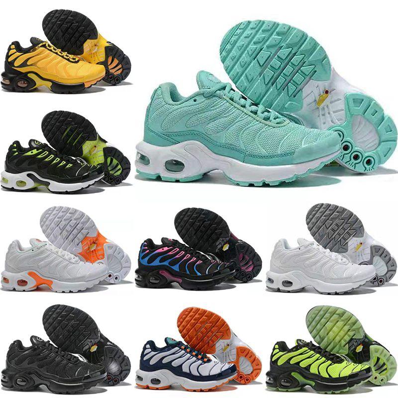 NIKE AIR MAX TN Nouveau designer de luxe bébé enfants chaussures de course TN plus baskets garçons filles baskets air coussin enfants chaussures taille EUR 28-35