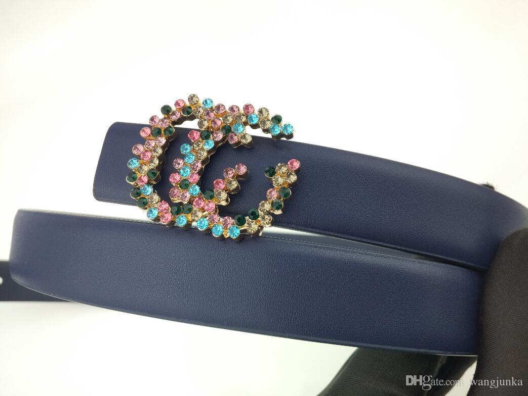 Gürtel Designer Gürtel, die für Frauen Schnalle, Top-Mode-Dame und Damegurt