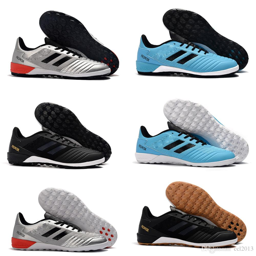 2019 mais novo Mens Botas de futebol de tornozelo baixo Archetic Durable Predator 19.1 IC TF Chuteiras de futebol Predator 19.1 Pogba Indoor Turf Soccers Shoes