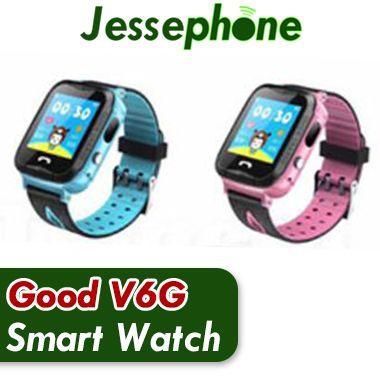 NOVA V6G Crianças Relógio Inteligente Ip67 À Prova D 'Água Rastreador GPS SOS Chamada Câmera de rastreamento de posicionamento móvel inteligente relógios para o Miúdo Criança