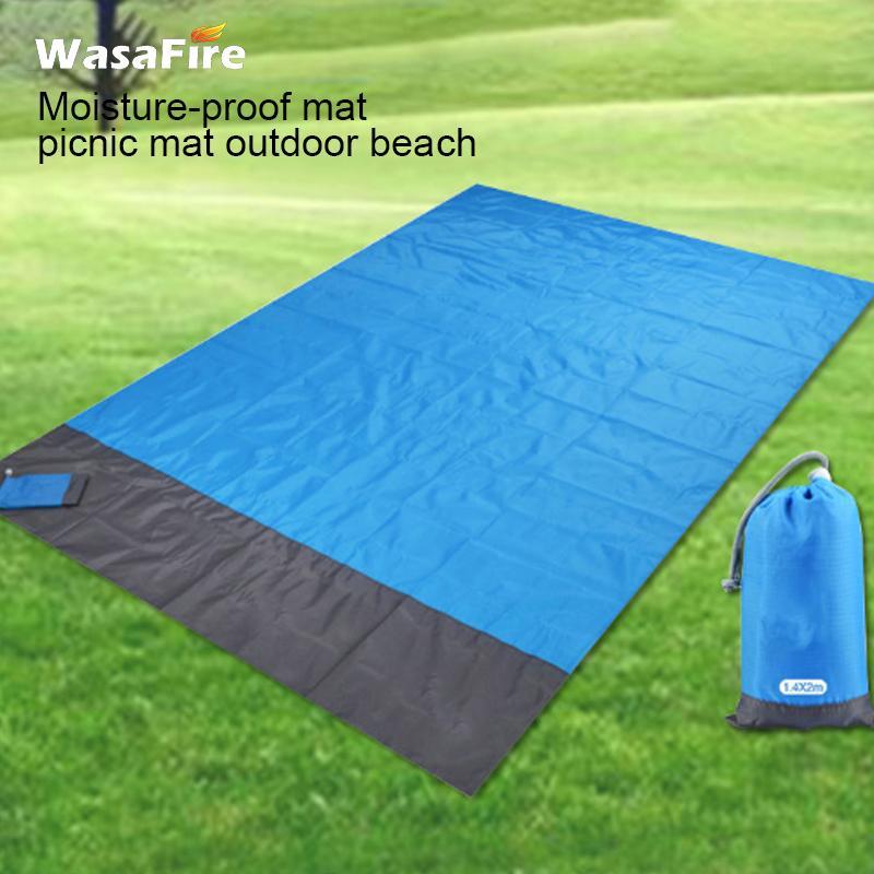 Coussins extérieurs Camping convenable Tapis étanche Couverture de plage portable Couleur de matelas de pique-nique