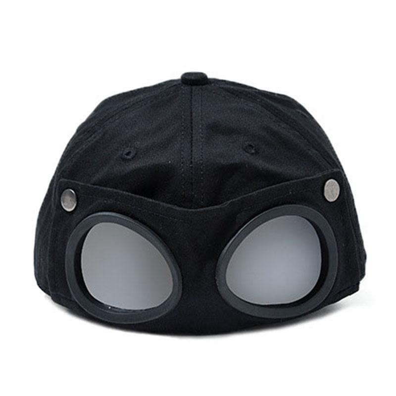 Новые пилотские очки бейсболка snapback hat мальчики и девочки хип-хоп ветрозащитная прохладная шляпа от DHL