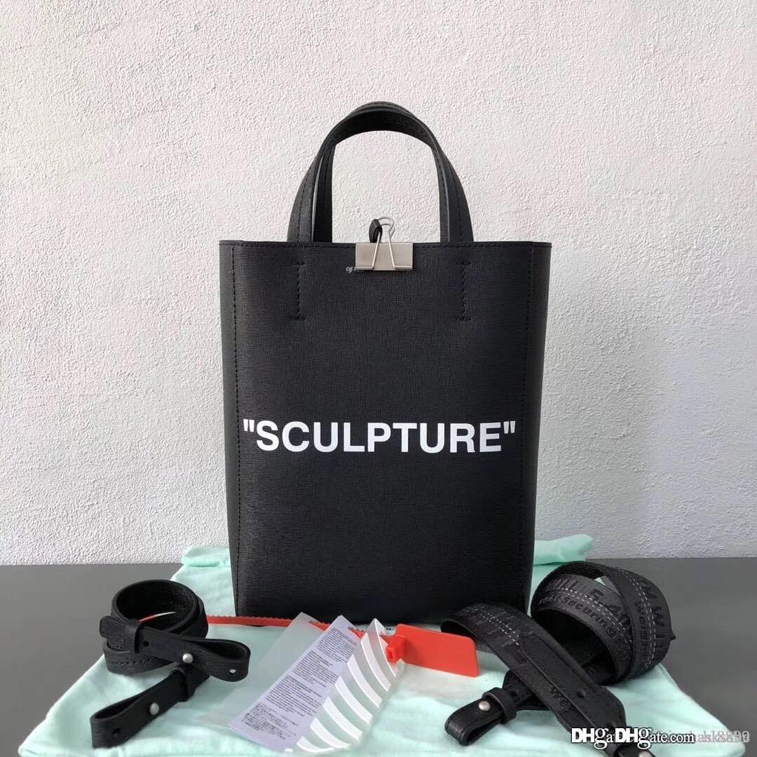 Donne borse a tracolla borse Off Borse cuoio genuino di modo Migliori borsa qualità sacchetti di spalla delle donne nero cinghie verticale sec