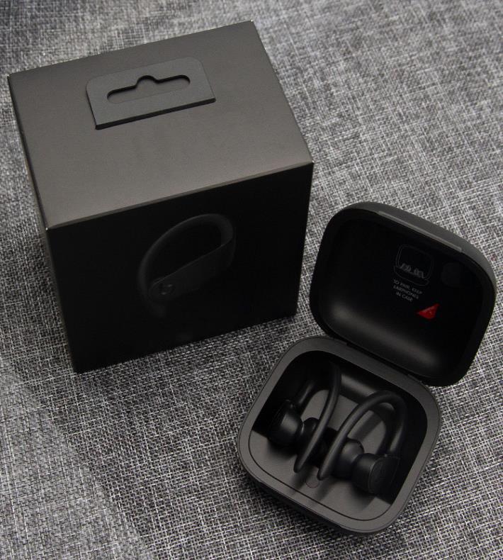 TWS اللاسلكية سماعات الأذن سماعات بلوتوث الألعاب الرياضية 3D ستيريو سماعة العالمي لفون سامسونج البرق الأسود