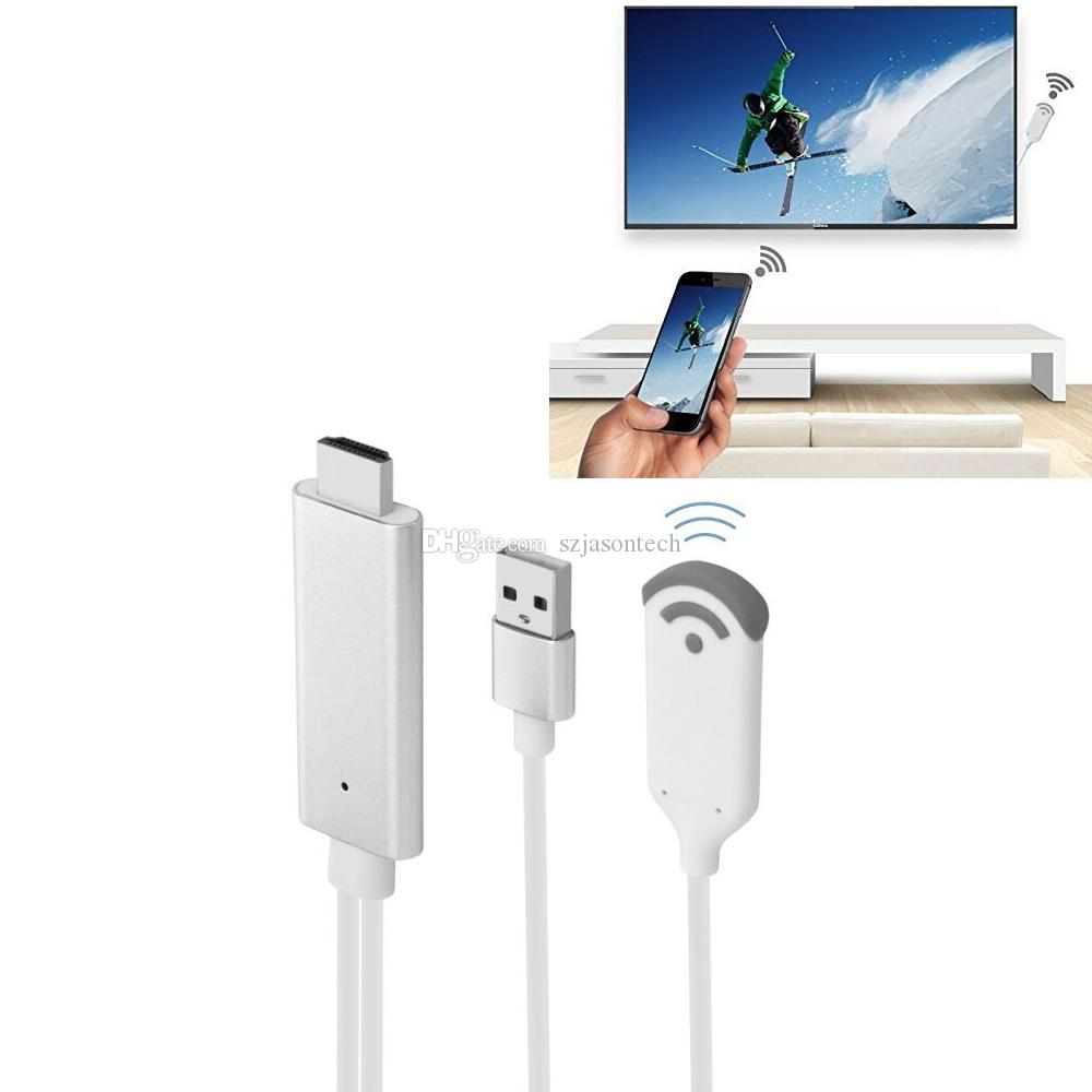 WiFi Wireless-HDMI-Dongle-Adapter 1080P HDTV Media Display-Adapter für iPhone XS Max / XS / XR