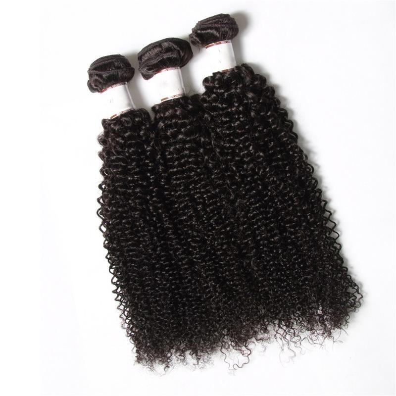 50%скидка!Ирина волос ткачество вьющиеся бразильские афро кудрявый вьющиеся 3 шт. пучки необработанные Джерри локон человеческих волос девственницы ткать богемские волосы