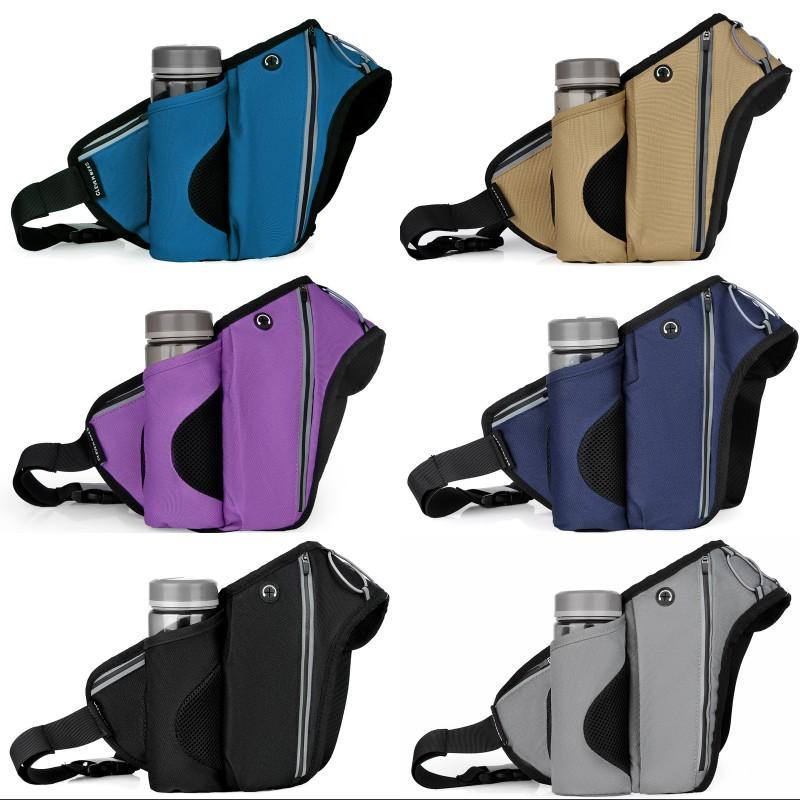 Sports Pack Waistpacks Running Inclined Shoulder Bag Water Cup Storage Chest Pockets Camping Equipment Mountaineering Outdoor 18 5lf O1