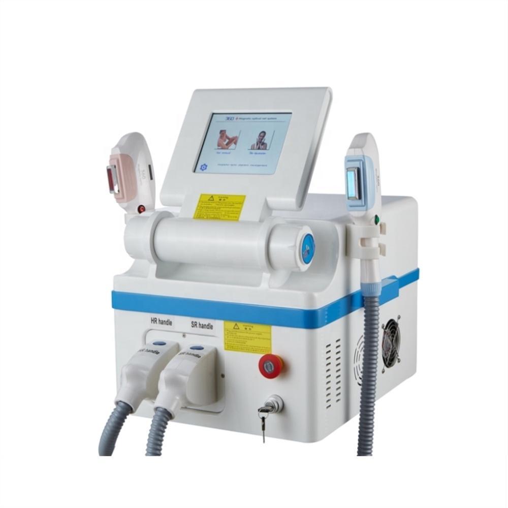 precio de fábrica 360 magneto-óptico OPT IPL láser SHR tratamiento del acné de depilación máquina de rejuvenecimiento de la piel TM-360